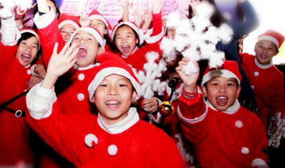 Secular Christmas in China
