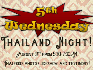 5th Wednesday