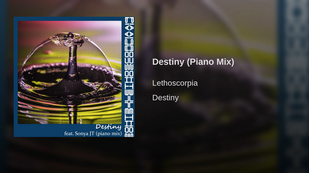 Destiny (Piano Mix) [feat. Sonya JT] - Single Lethoscorpia