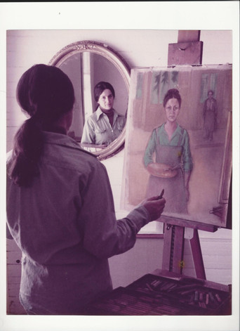 Mom at the easel young.jpg