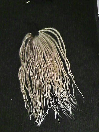 hair falls and synthetic hair dread extensions
