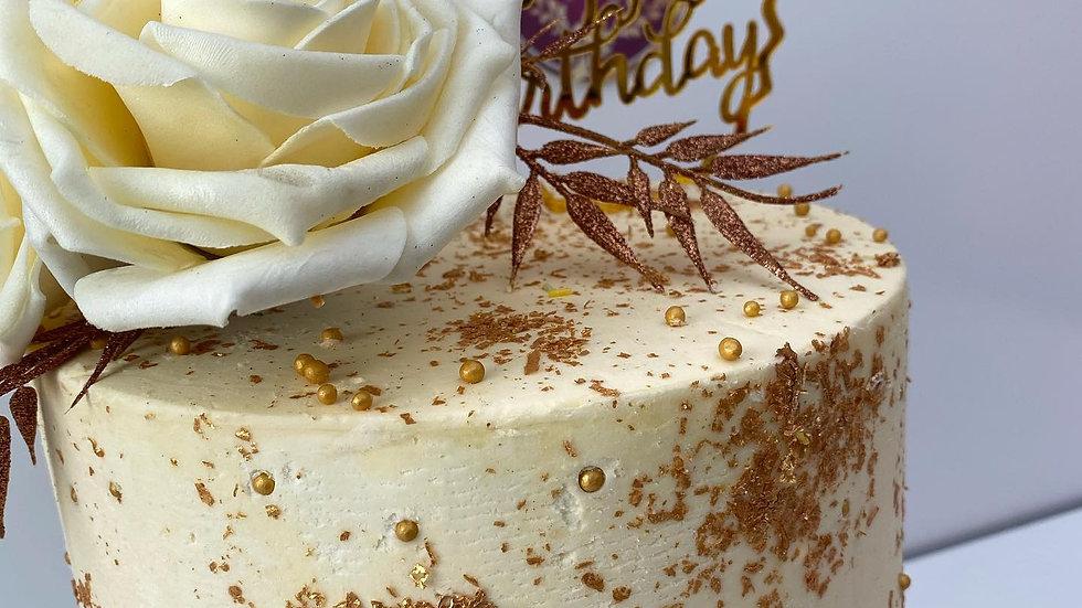 Golden Dust Cake