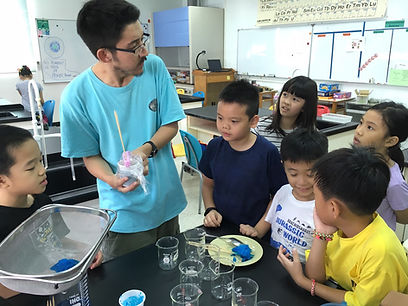 AST Summer Camp fun with science