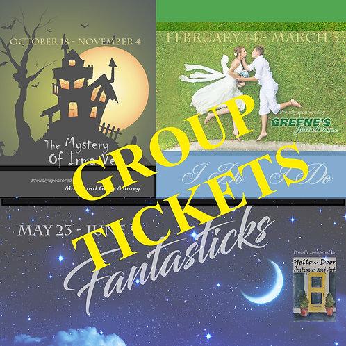 Group Season Tickets