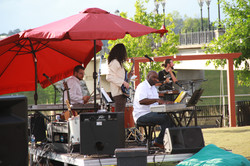 s. MUSICIANS ON THE TOWN GREEN