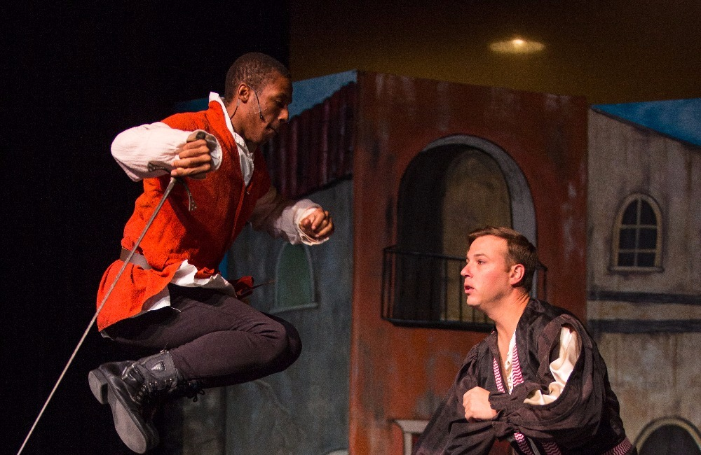 Mercutio and Tybalt