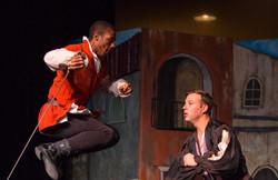 Mercutio and Tybalt