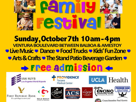 Light The Night & Encino Family Festival This Weekend