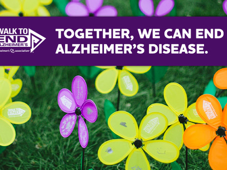 Walk to End Alzheimer's on Saturday