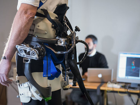 Robotic Exoskeleton Research To Help the Elderly