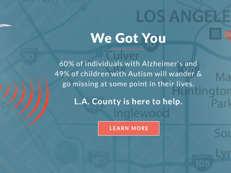 L.A. County Launches Tracking Program to Find Those Who Wander