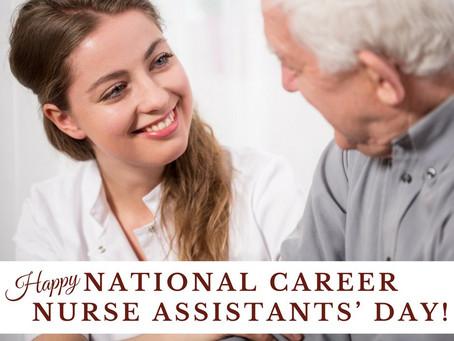 National Nursing Assistants' Week