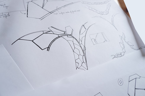 """Storyboard sketching """"fracture"""""""