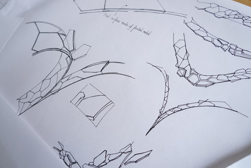 Storyboard sketching