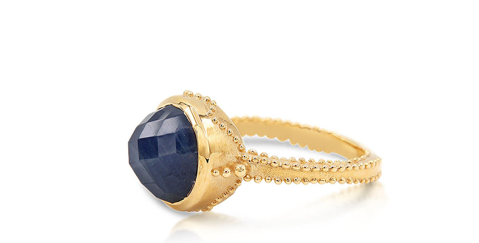 One of a Kind Skyrise Sapphire Ring