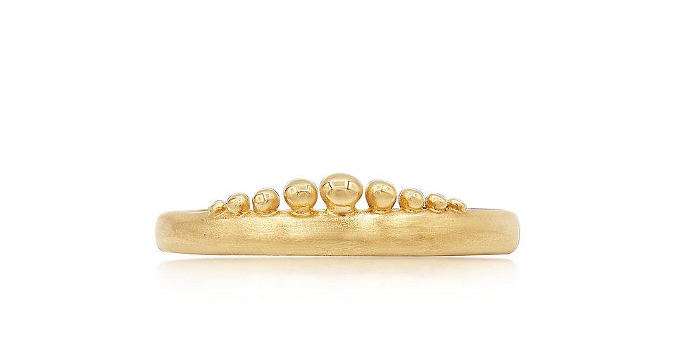 Sunrise Crown Ring