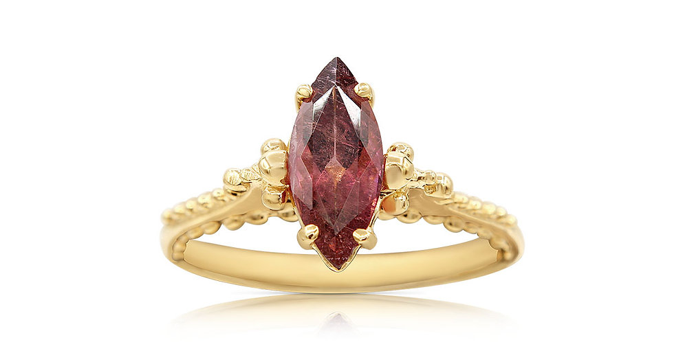 Tourmaline Marquise Ring