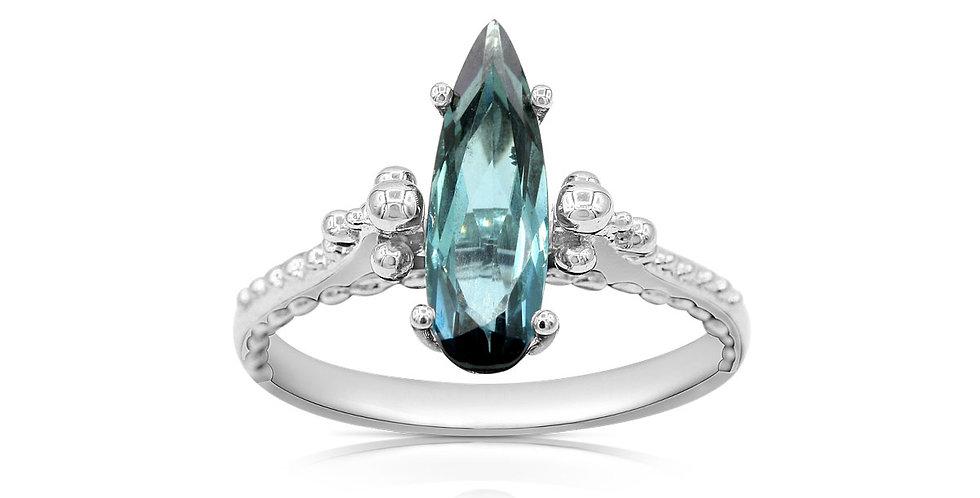 Elongated Tourmaline Ring