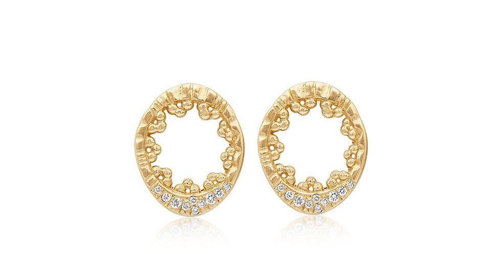 Hidden Star Earrings