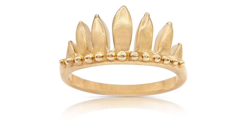 Flame Crown Ring