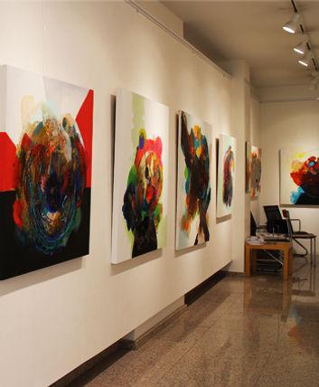 Birce Yıldız exhibition, sergi