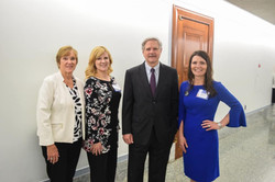 Visiting with Senator Hoeven