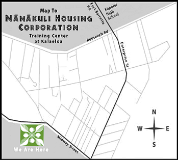 Access plan, directions to _ Nanakuli Housing Corporation _ Training Center at Kalaeloa