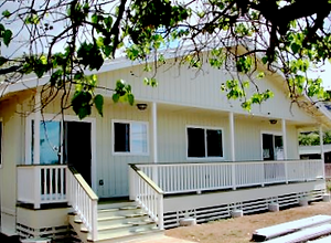Kawelo Cottage of Mr. and Mrs. Barrett of Nānākuli Homestead who attended both the financial literacy and home maintenance training program _ Nānākuli Housing Corporation (NHC)