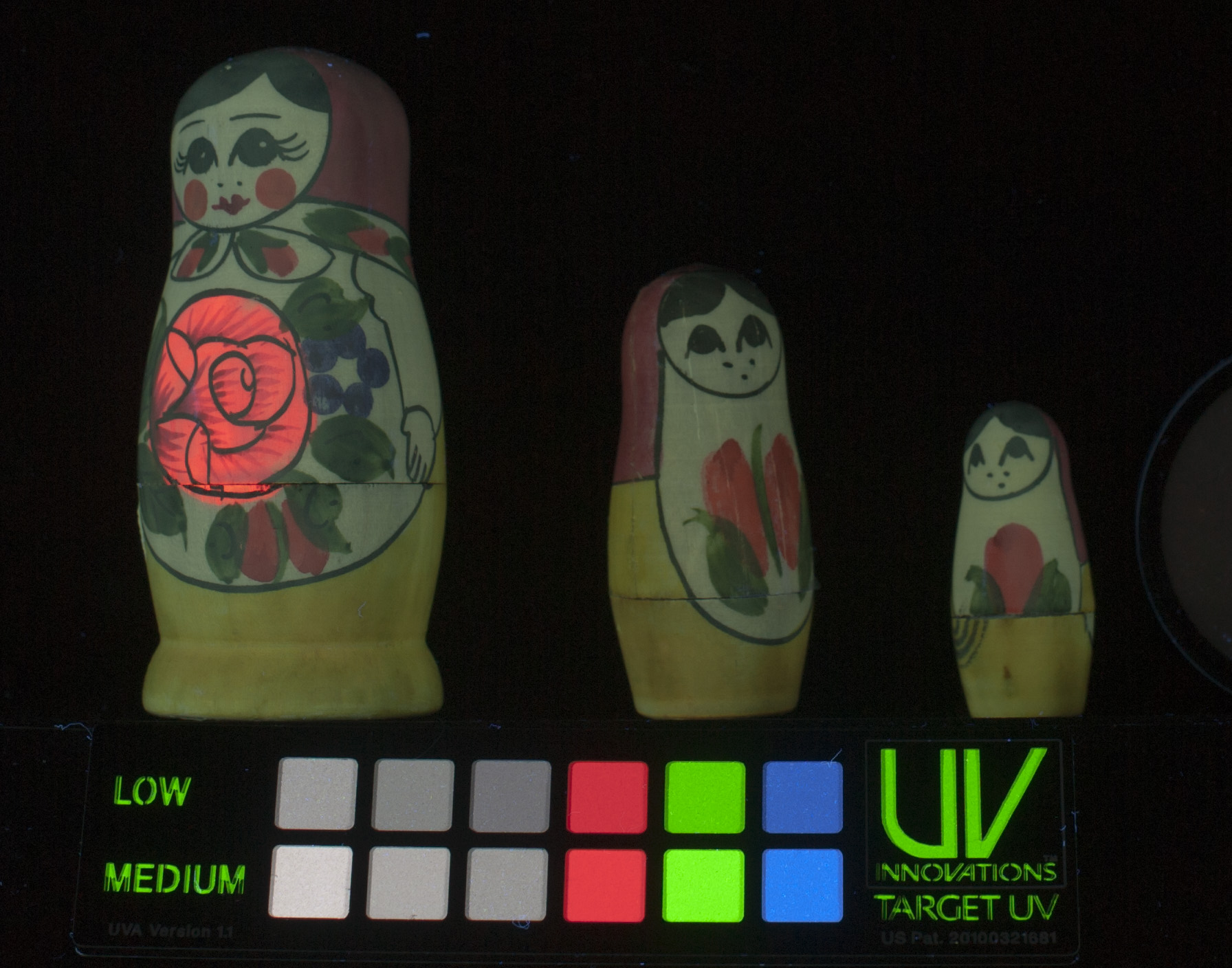 UV-vis, nesting dolls