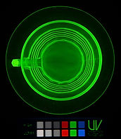 Uranium glass, UV Innovations, UVA, fluorescence