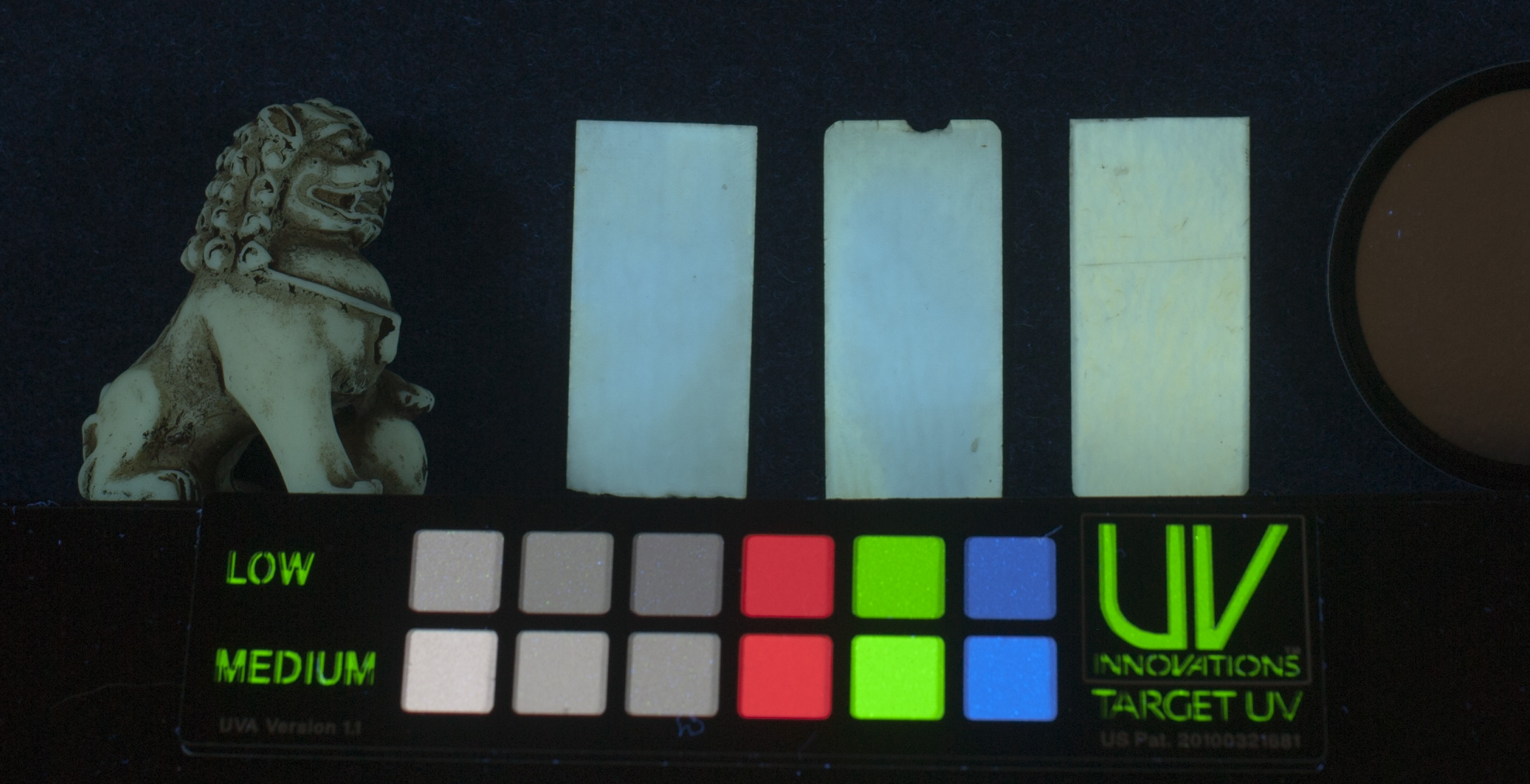 UV-vis, piano keys and netsuke