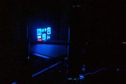 UV-vis working shot