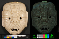 Mask normal/UV-vis