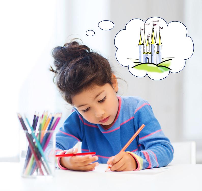 people, childhood, creativity and imagin