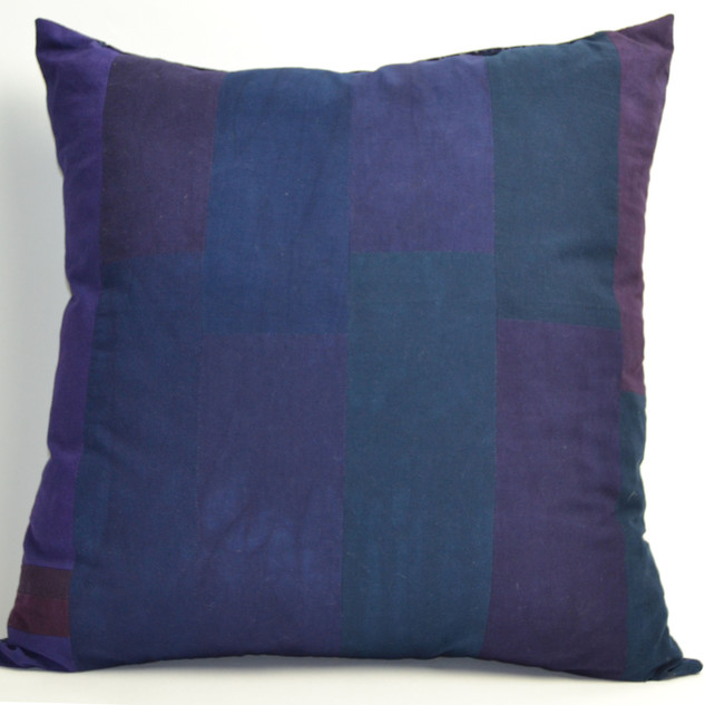 hand dyed pillow blue and purple.jpg