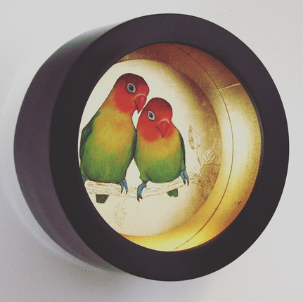 A Pair of Love Birds