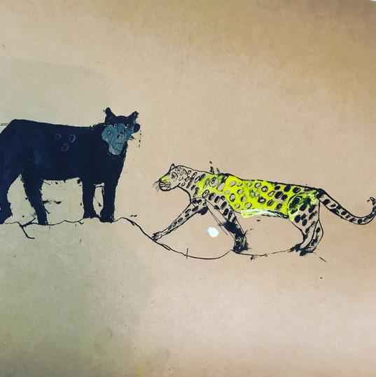 Jaguar and Cheetah