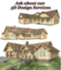 3D Log Home Design Services