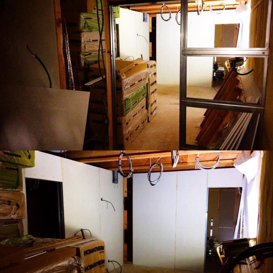 Maison ossature bois, décoration