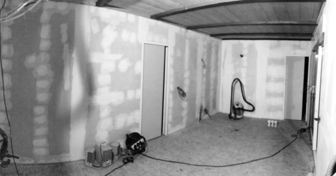 Décoration maison en bois salon