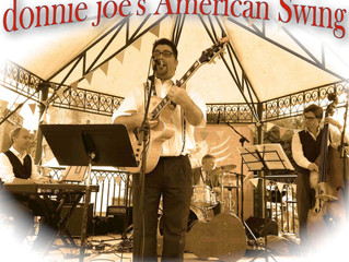donnie joe's American Swing @ The Cardiff Country Fair, Cardiff Castle