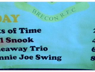 Brecon Fringe/Jazz Weekend 2014: donnie joe's American Swing @ The Brecon Rugby Club