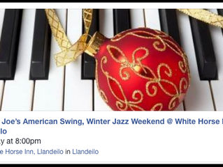 A Jazz Christmas @ The White Horse Inn, Llandeilo with donnie joe's American Swing