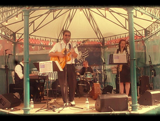donnie joe's American Swing @ The Cardiff International Food Festival 2015