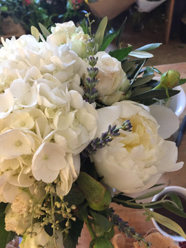 zoom bouquet mariage