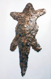 Penny Pangolin 2019 by Dan Harvey - Venice, Italy
