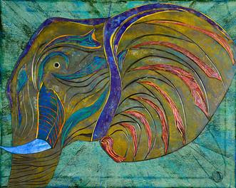 Memmory Elephant by Igor Zusev - Seattle, USA