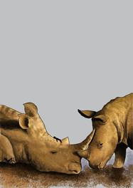 Rhino by Ying-Jung Chen - Gothenburg, Sweden
