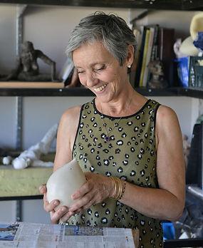 Marie-Jo, Hostache, sculpteur