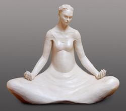 Vierge en Méditation